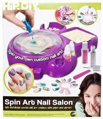 hip diy spin art nail salon