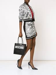 totes womens boots sale moschino logo print square tote bags moschino shirt sale