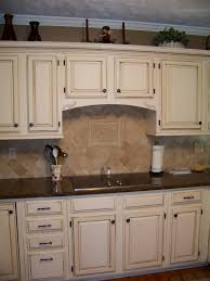 cream glazed kitchen cabinets cream cabinets with dark brown glaze kitchen cabinets u0026 layout