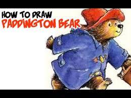 draw paddington bear
