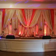 bay area indian wedding decorations engagement decor and stage