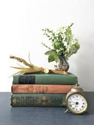 FARMHOUSE VINTAGE BOOKS DECORATIVE Book Stack Books Stack for