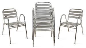 chaise jardin aluminium chaise jardin aluminium chaise resine jardin materiaux naturels