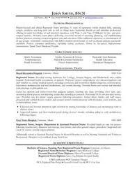 resume for a registered nurse template sample nursing curriculum vitae templates http jobresumesample