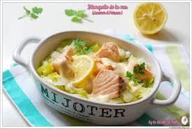 vin blanc pour cuisine la dinette de nelly blanquette de la mer saumon poireau sauce