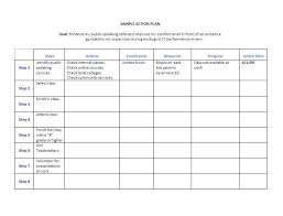 sample business action plan template example format 30 60 90 day