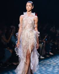 wedding gowns nyc new york fashion week looks that could as wedding dresses