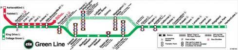 cta line map ctagifts com green line map poster