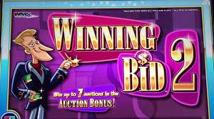 bid 2 win wms winning bid 2 slot machine big win