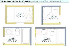 bathroom floor plans small 5x5 bathroom layout small bathroom floor plans baths small