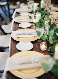 Table Wedding Decorations Best 25 Gold Chargers Wedding Ideas On Pinterest Long Table