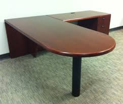 Used L Shaped Desk Used Office Desks Kimball L Shaped Office Desks At Furniture Finders