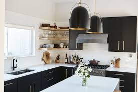 kitchen cabinets for small kitchen how can black kitchen cabinets make a small kitchen look