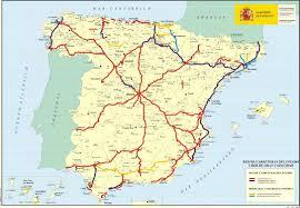Espana Map Turismo Por España