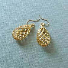 3d printed gold jewellery 3d printed jewelry 3d printed earrings tiny right brain designs