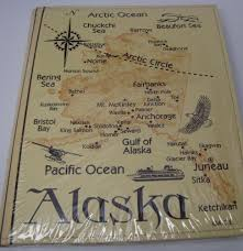 photo albums cheap alaska state map embossed leather photo album 200 photo cheap