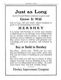 hershey community archives hershey press advertisement 11 09 1911
