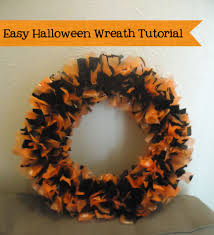 easy and frugal halloween wreath tutorial holidappy