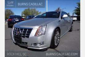 used cadillac cts 2013 used cadillac cts coupe for sale in greenville sc edmunds