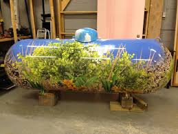 Decorative Water Tanks We Can Wrap Anything Check Out This Propane Tank Wrapped By