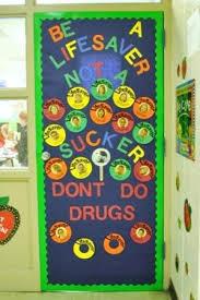 Red Ribbon Week Door Decorating Ideas Don U0027t Fall Into Drugs Door Decoration For Red Ribbon Week Drug