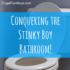 fun bathroom ideas getting rid of boy bathroom stink