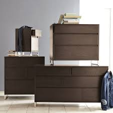 West Elm Bedroom Furniture by Hudson 6 Drawer Dresser Chocolate West Elm