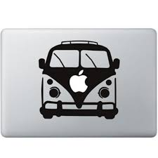 volkswagen van volkswagen van macbook decal kongdecals macbook decals