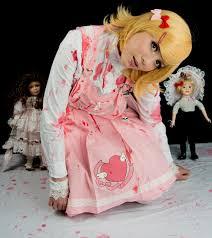 Scary Dolls Costumes Halloween Cafe Harajuku Canudoitcat Happy Halloween Creepy Dolls