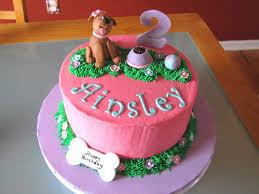 puppy themed birthday cakes dog themed 2nd birthday cake