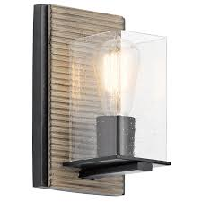 Kichler Under Cabinet Lights by Millwright 1 Light Wall Sconce In Dag