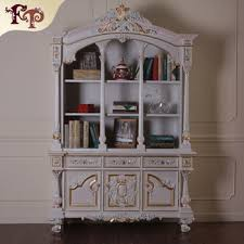 French Antique Bookcase Classic French Antique Study Room Furniture High End Wooden