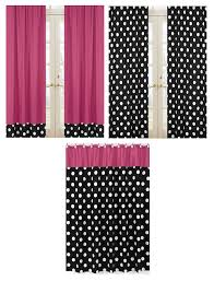 Black Polka Dot Curtains Colorful Curtains Black Polka Dot Curtains Hotdot Pk Panels