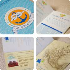 cruise wedding invitations cruise passport wedding invitations wedding cruise