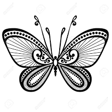 design tattoo butterfly patterned butterfly stock photos royalty free patterned butterfly