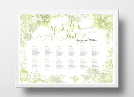 ryman seating map wedding seating chart poster diy editable powerpoint template