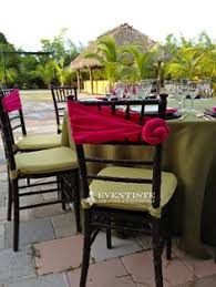 table sashes our paradise in the garden themed table avocado harmony table