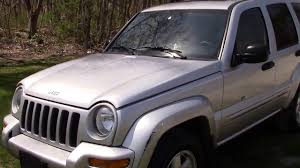 jeep van truck 2003 jeep liberty limited 4x4 silver for sale youtube