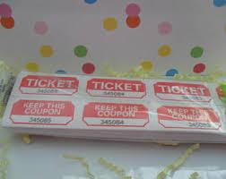 prize ticket etsy