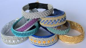 bracelet made with thread images Tin thread jpg