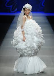 wedding dresses amusing design of the ugliest wedding dresses with look like balls