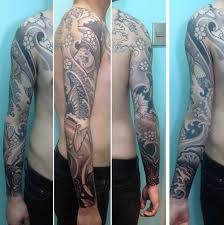 tattoo yakuza lengan 50 koi fish tattoo designs for men japanese symbol of masculinity