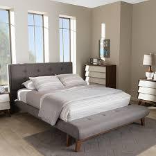 Contemporary Platform Bed Baxton Studio Reena Modern And Contemporary Platform Bed With
