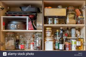 how to store food in cupboards store cupboard food high resolution stock photography and