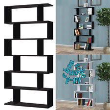 6 Shelf Bookshelf Bookshelves Bookcases Shelving U0026 Storage Ebay