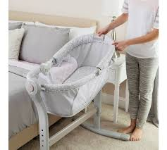 buy summer infant by your bed crib grey at argos co uk your