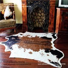 tappeto di mucca mucca stato tappeto finto animale zebra pelle di vacchetta