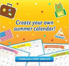 24 best summer calendar images on pinterest summer calendar