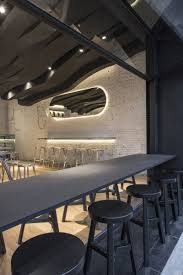 the café aroma translated into a sculptural design in shanghai