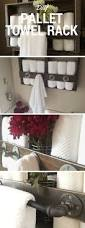 top 25 best bathroom towel storage ideas on pinterest towel diy pallet towel rack